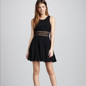 Free People Lace and Crochet skater dress
